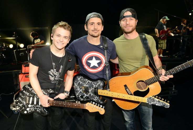 Hunter Hayes, Brad Paisley And Dierks Bentley | GRAMMY.com: Hunter Easton, Country Hunter Hayes, Hunter Hayes ️, Hunter Hayes 3, Brad Paisley, Country Singer, Easton Hayes, Hayniac, Bradpaisley