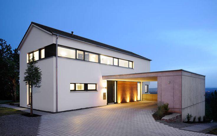 1128 einfamilienhaus neubau a punkt architekten hausfassade