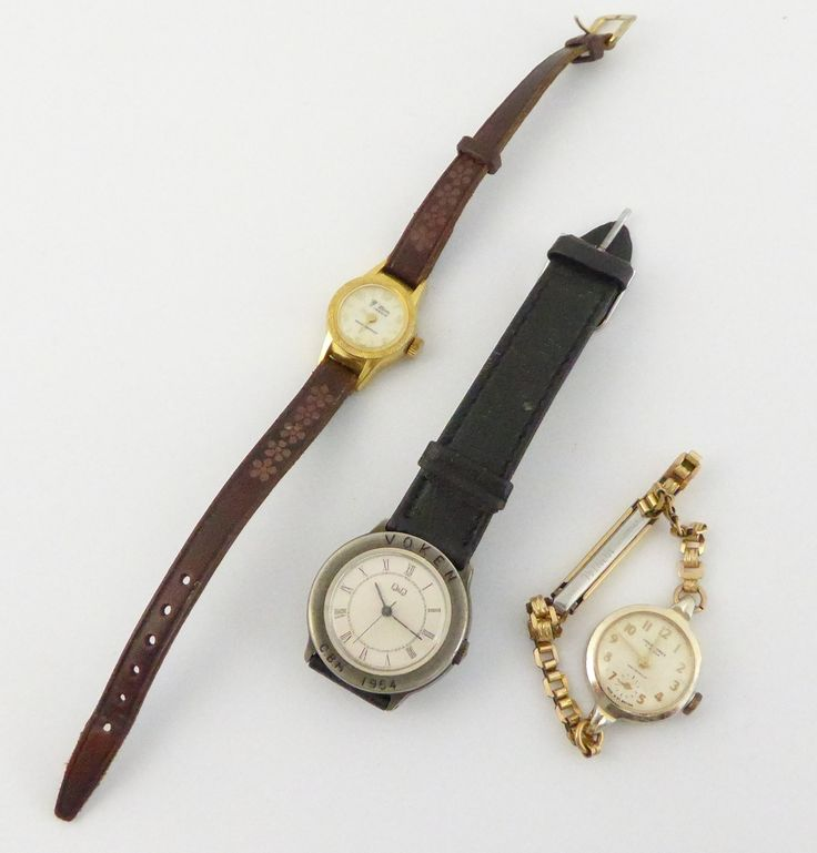 Vintage Ladies Wrist Watches Swiss and British - The Collectors Bag