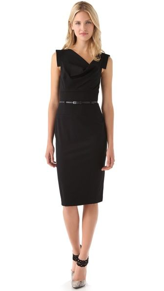 Black Halo Jackie O Belted Dress.  Own it never get tired of this dress