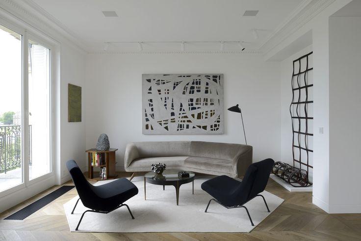 Tristan AUER - Appartement - Invalides, Paris. Crédit photo Olivier Amsellem.