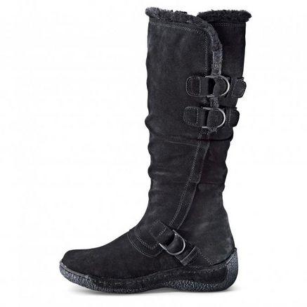 Henri Pierre® Women's 'Kacey' Waterproof Suede Boot