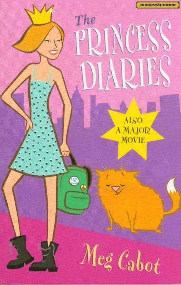 The Princess Diaries series by Meg Cabot.