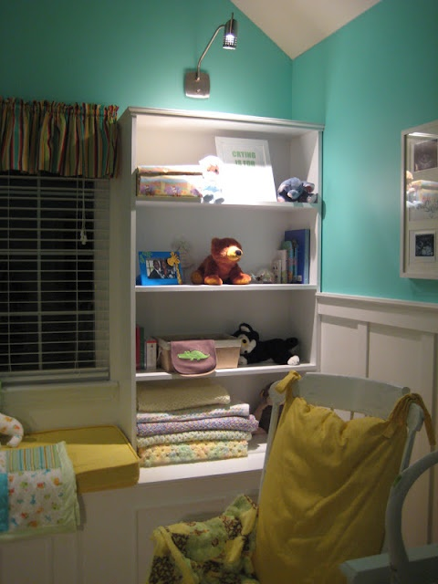 """""""tantalizing teal"""" baby room sherwin williams"""