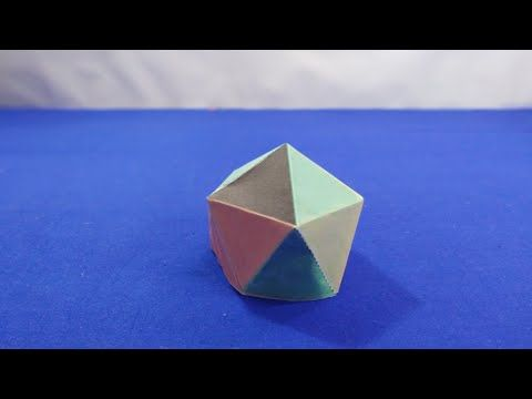 Diy How To Make Printable Paper Pyramid Youtube Printable