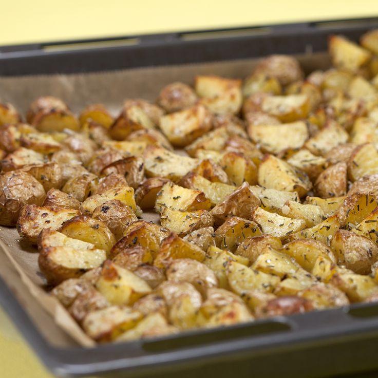 Ovnstegte kartoffeltern