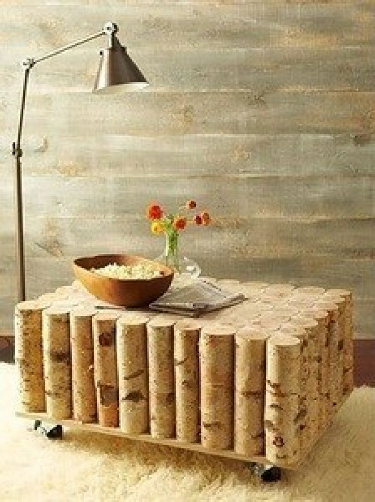 original wooden table