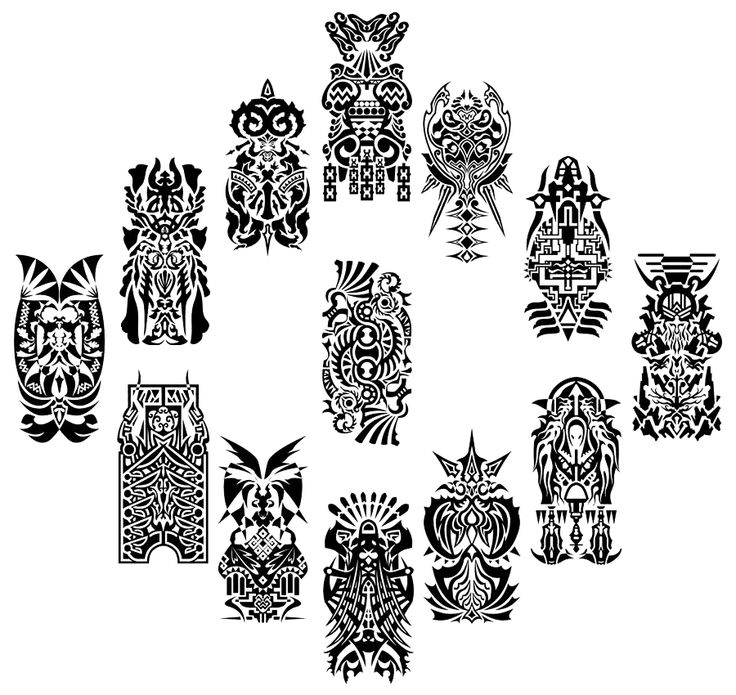 GAH the Summon crests from Final Fantasy XII, I always thought they would make killer tattoos and since they are based of the zodiacs any Final Fantasy Fan and Zodiac lover would love em.