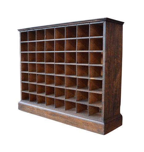 Elegant Office Mail organizer Cabinet