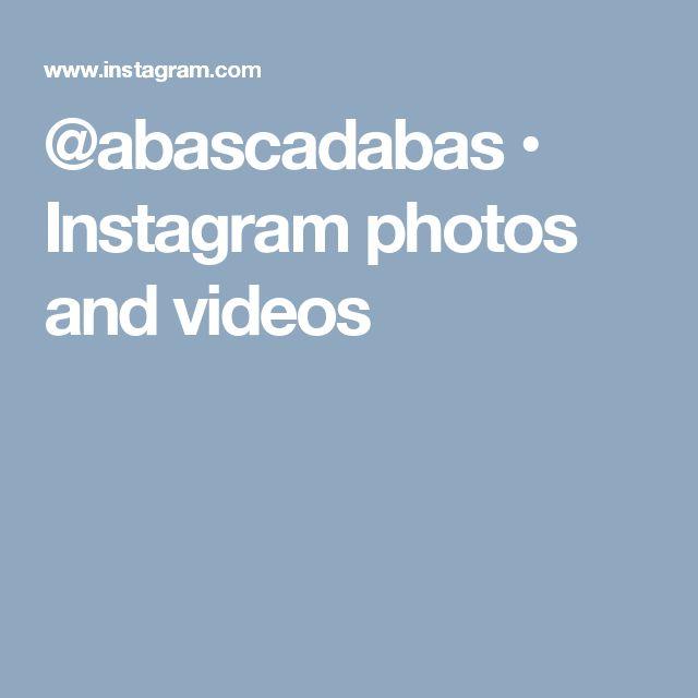 @abascadabas • Instagram photos and videos
