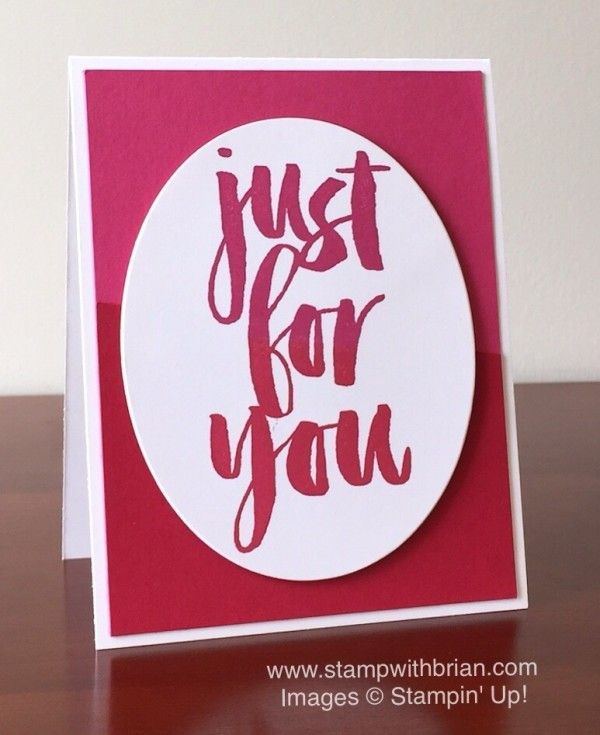 Botanicals for You, Stampin' Up!, Brian King, FMS221