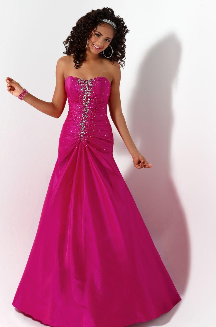 Mejores 131 imágenes de Prom/Formal * Pink Dresses en Pinterest ...