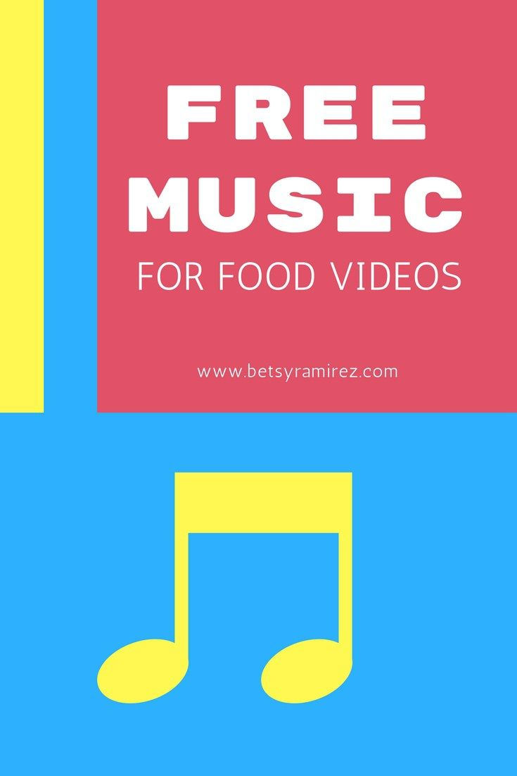 My 3 Favorite Royalty Free Music Sites For Food Videos - Betsy Ramirez