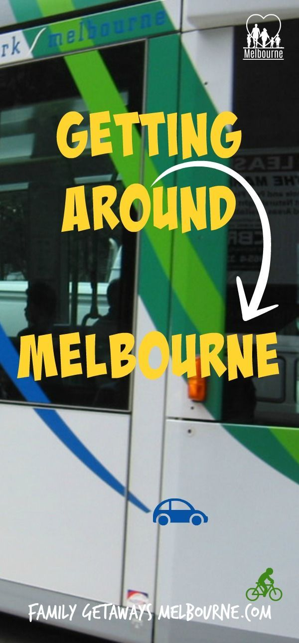 Getting around Melbourne is quite easy, once you know how. Click the image for more information and tips and suggestions on how to get around the city.
