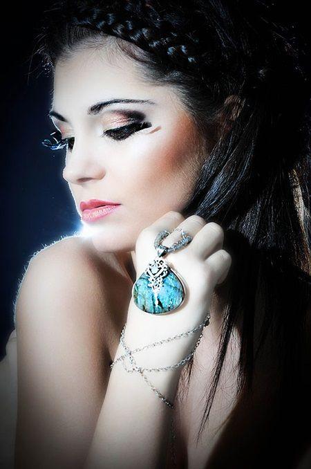 Makijaż orientalny - Małgorzata Bardadyn - make up artist #makeup #makeupartist #poland