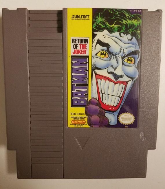 Batman: Return of the Joker (NES) Authentic Original Cartridge w/ Dust Sleeve