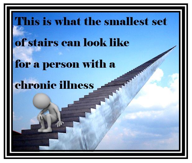 Lo que le puede parecer a una persona con una enfermedad cronica