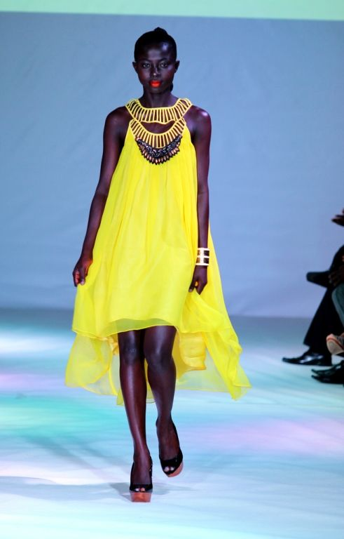 2012 Ghana Fashion & Design Week - Mimi Lee London -  BellaNaija  My girlfriend Grace