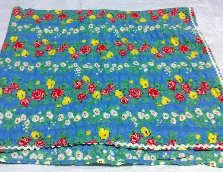 Small printed tablecloth
