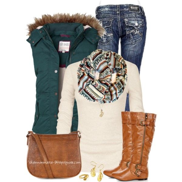 Fat Face Gilet by shannonmarie-94 on Polyvore