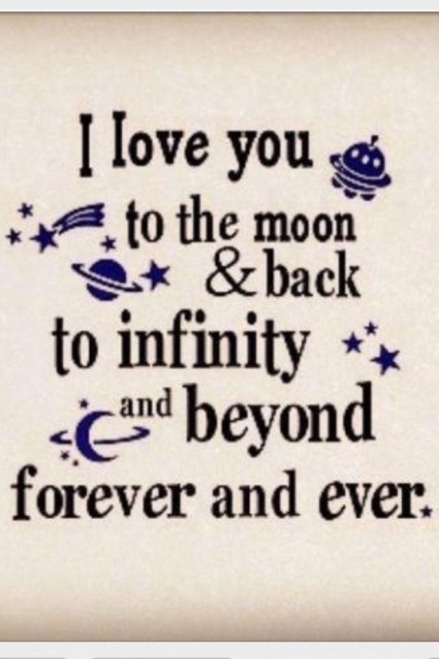 I Love You Times Infinity And Beyond Quotes. QuotesGram