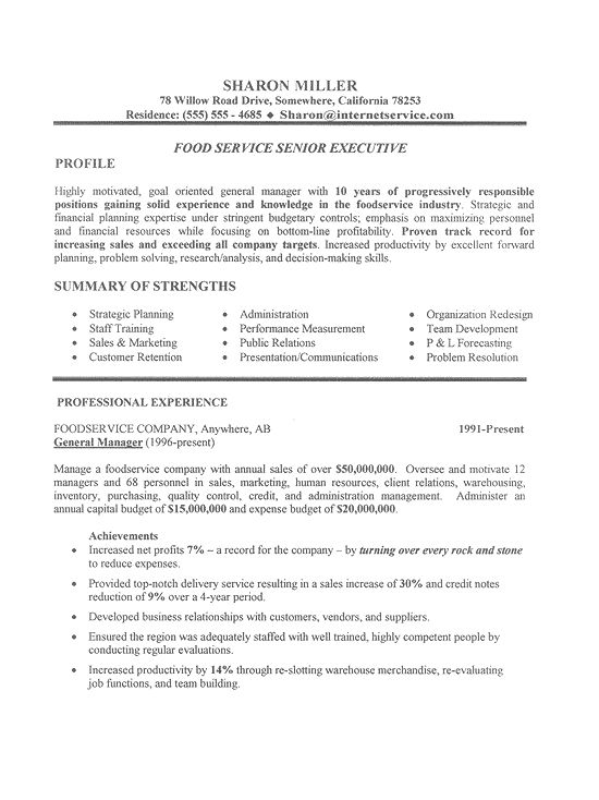 executive resume templates 2015 httpwwwjobresumewebsiteexecutive - Resume Format For Sales Executive
