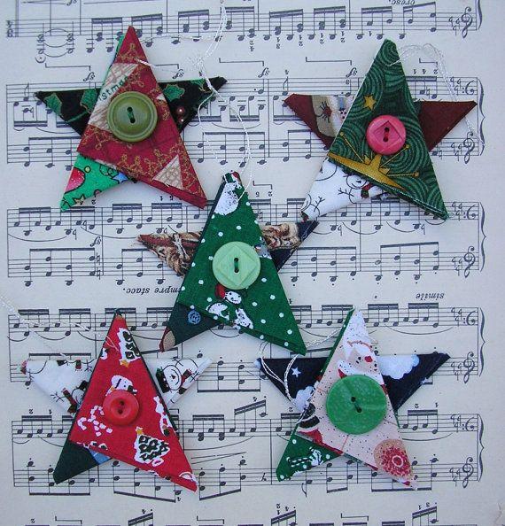 https://www.etsy.com/listing/256832135/star-christmas-ornaments-fabric-star