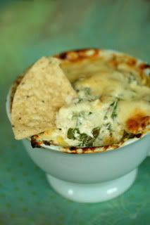 Bethenny's Guilt-Free Artichoke & Spinach Dip