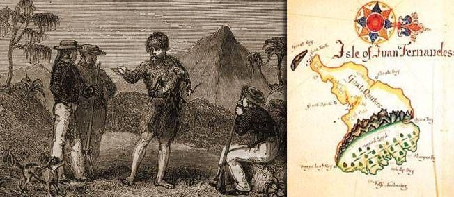 2 février 1709. Alexander Selkirk, le vrai Robinson Crusoé, est recueilli après 52 mois de solitude.