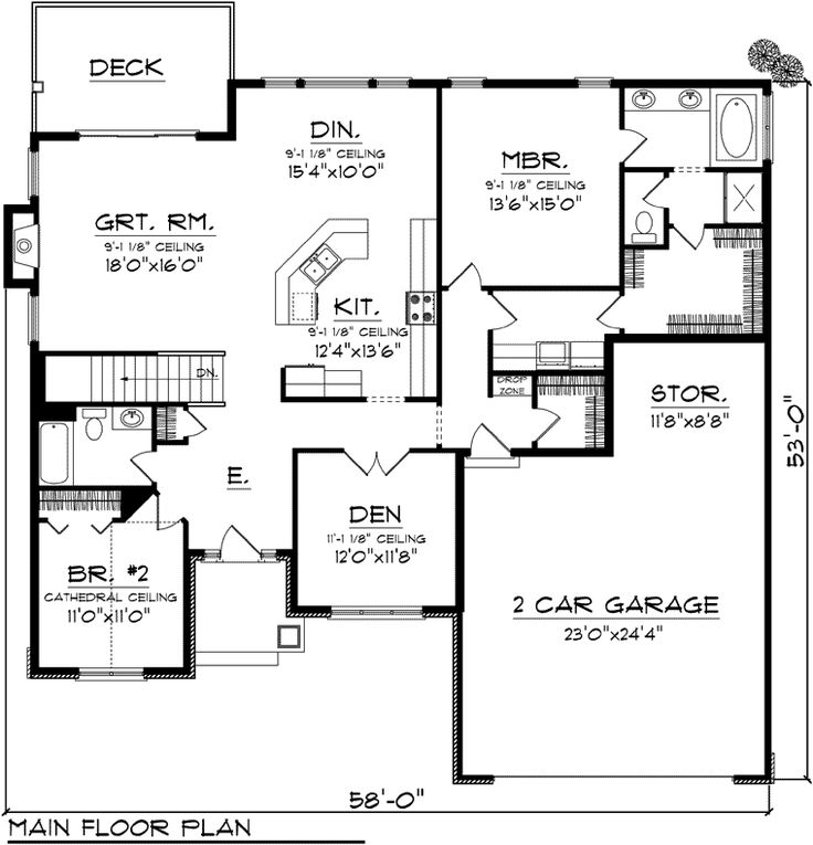 122 best 1800 sq ft house plans images on pinterest for 1800 sq ft open floor plans