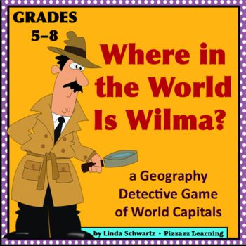 Best GEOGRAPHY Images On Pinterest Task Cards Geography Games - Capital cities of the world game