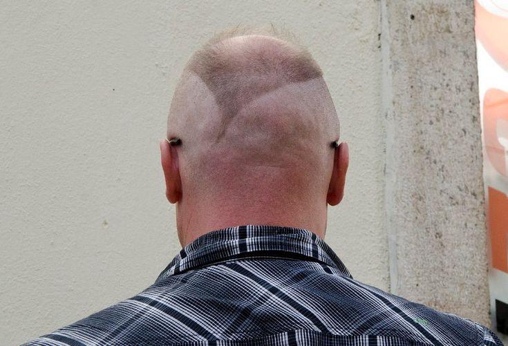 how to cut bangs men