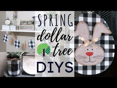 (536) Spring Buffalo Check Dollar Tree DIYS | Buff…