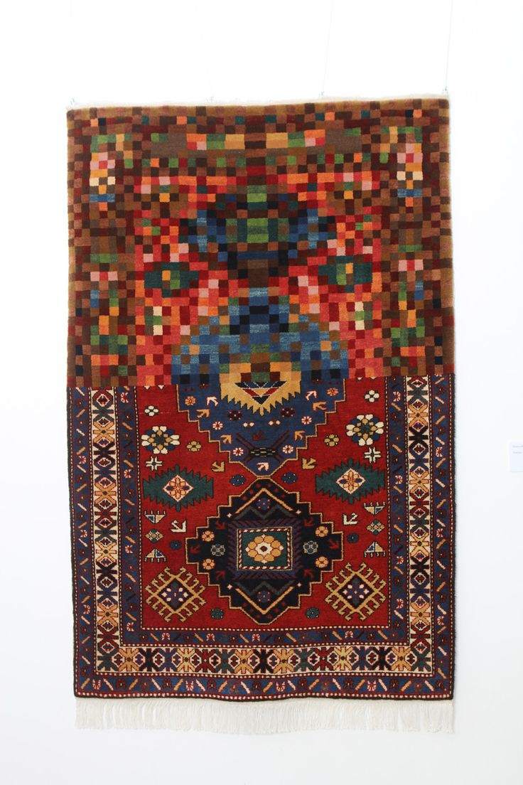 Carpet by Faig Ahmed  TRADITION IN PIXELS