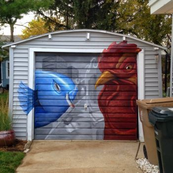 17 Best Images About Garage Door Murals On Pinterest