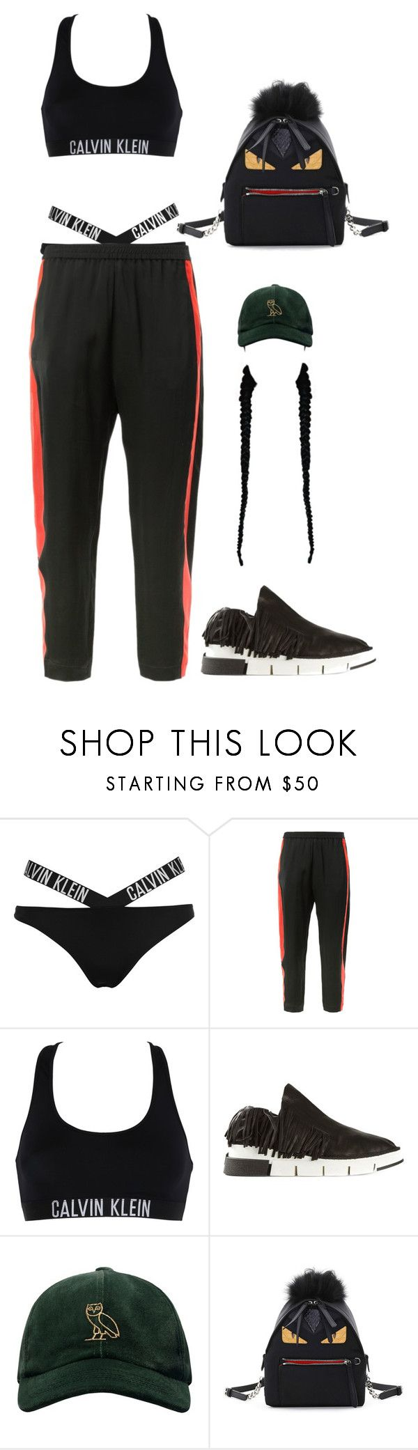 """""""Sans titre #1772"""" by frenchystyle ❤ liked on Polyvore featuring Calvin Klein, Ilaria Nistri, Cinzia Araia, October's Very Own and Fendi"""