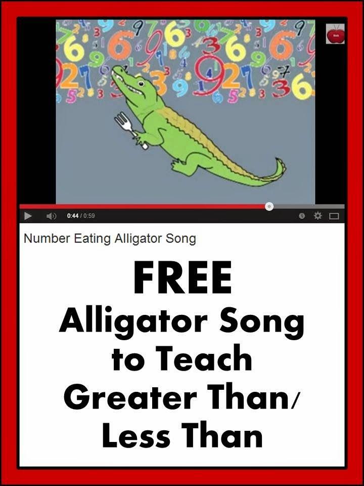 手机壳定制cheap jordan on sale free shipping Math Activities  Greater Than or Less Than Teaching Ideas  Your students will love this alligator math song