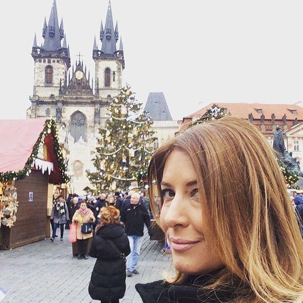 Selfie da Praga