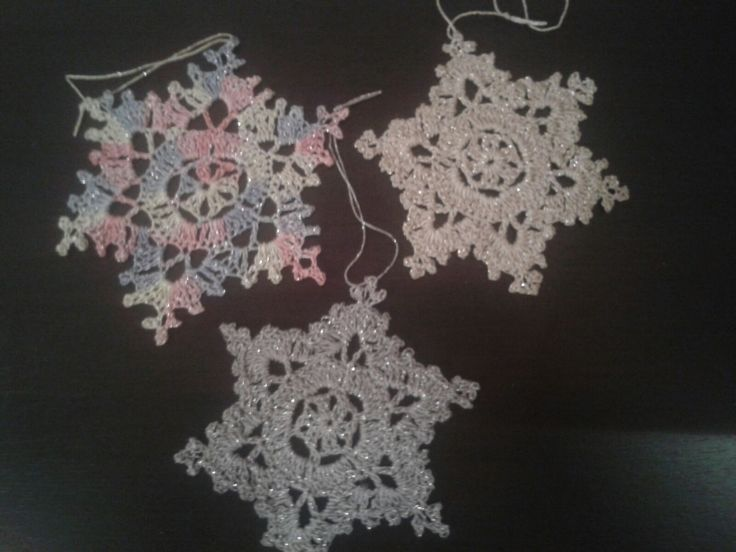 Snowflakes for Christmas tree