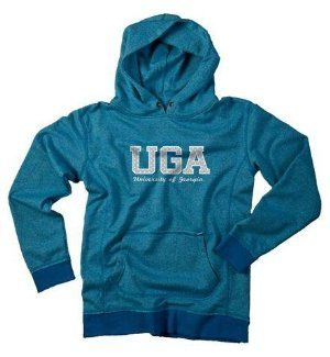 Georgia Bulldogs UGA Women's Polka Dot Hoody Sweatshirt by J. America. $19.95. Machine Washable. Officially Licensed Georgia Bulldogs Women's Hoodie Sweatshirt. 60 Cotton/40 Polyester 2-Tone Fabric. Women. Please Select Size From The Drop Down-Use Size Chart Provided For Measurements. Georgia Bulldogs women's hoodie. The Bulldogs hooded sweatshirt is made of 60 Cotton/40 Polyester 2-tone fabric with a screen printed polka dotted logo on the front. This girly sweatsh...