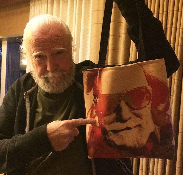 Official Scott Wilson Tote Bag by TraceyGurney on Etsy https://www.etsy.com/listing/235174410/official-scott-wilson-tote-bag
