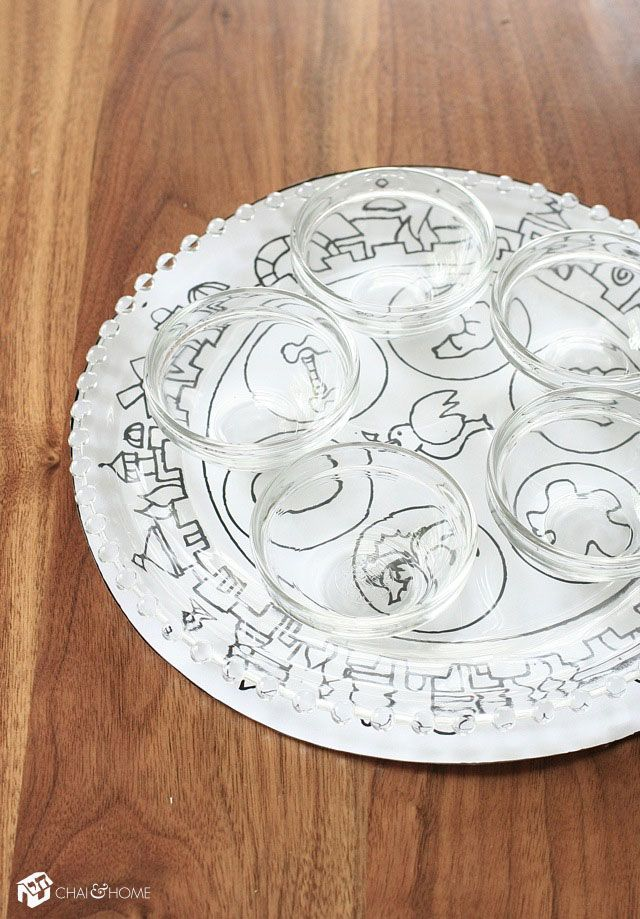 Hand drawn ideas for crafting a haggadah cover