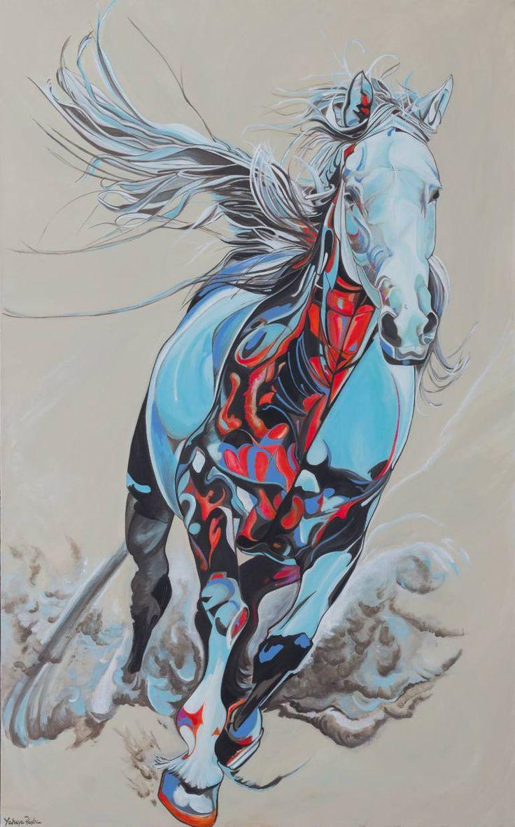 "Saatchi Art Artist Yaheya Pasha; Painting, ""Ethereal"" #art"