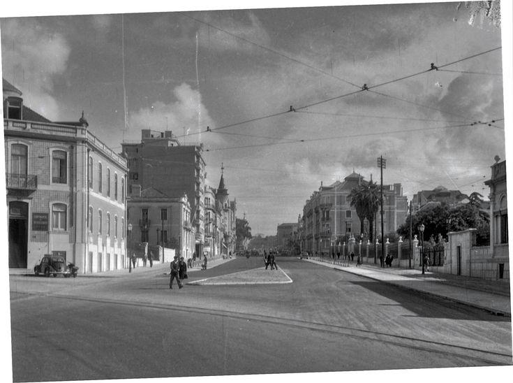 Avenida de Fontes Pereira de Mello, Lisboa (J. Benoliel, anos 50)