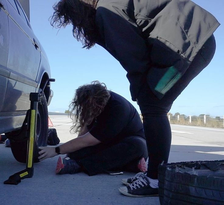 #TBT To a couple of hairy dudes changing a tyre on the #riseforregional roadtrip!