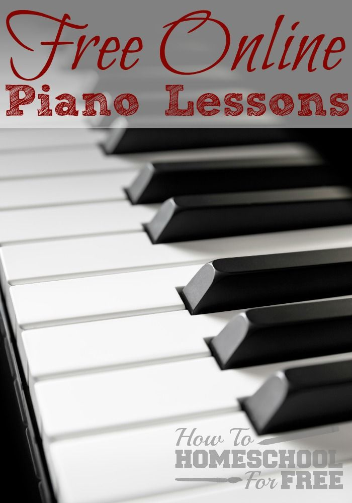 Do you want your kids to take piano lessons but don't want to foot the bill? Check out these wonderful FREE Online Piano lessons! #homeschool