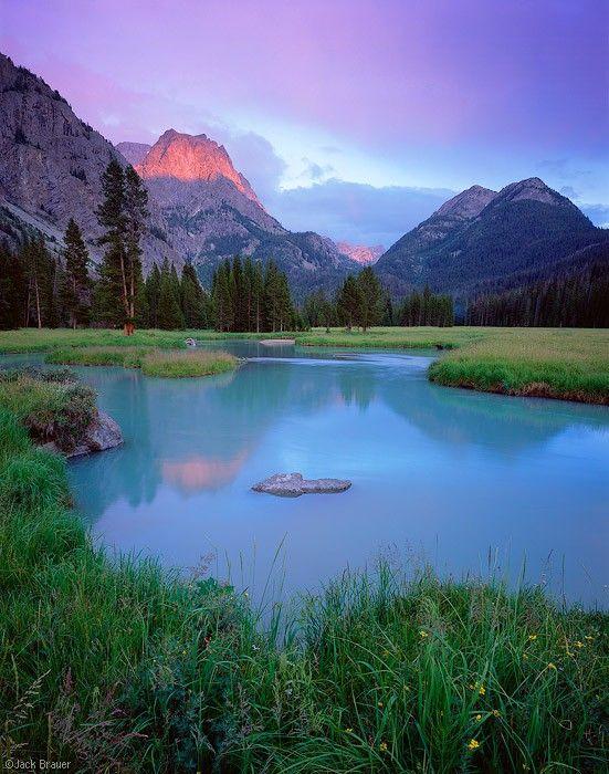 Wind River Range - Jackson Hole, Wyoming.