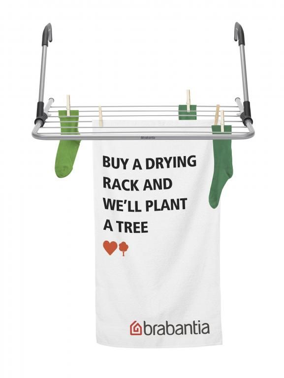 Every time you are drying your laundry naturally, you're being kind to your clothes, your wallet and the planet. It's just one of those small things you can do at home to make a difference in the world. #WeForest