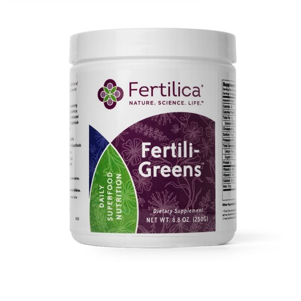 FertiliGreens Concentrated Superfood is a great way to make sure you are getting all of your greens on a daily basis. A healthy fertility diet that is rich in whole foods and dark green vegetables builds a strong foundation for healthy fertility