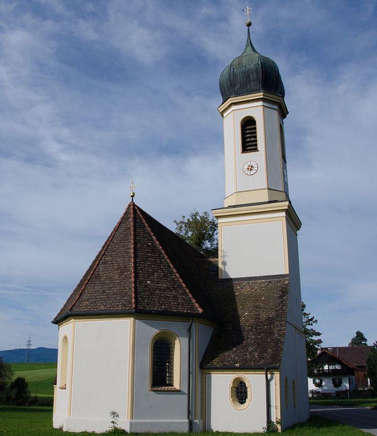 Murnau am Staffelsee-Froschhausen, Filialkirche St. Leonhard (Garmisch-Partenkirchen) BY DE